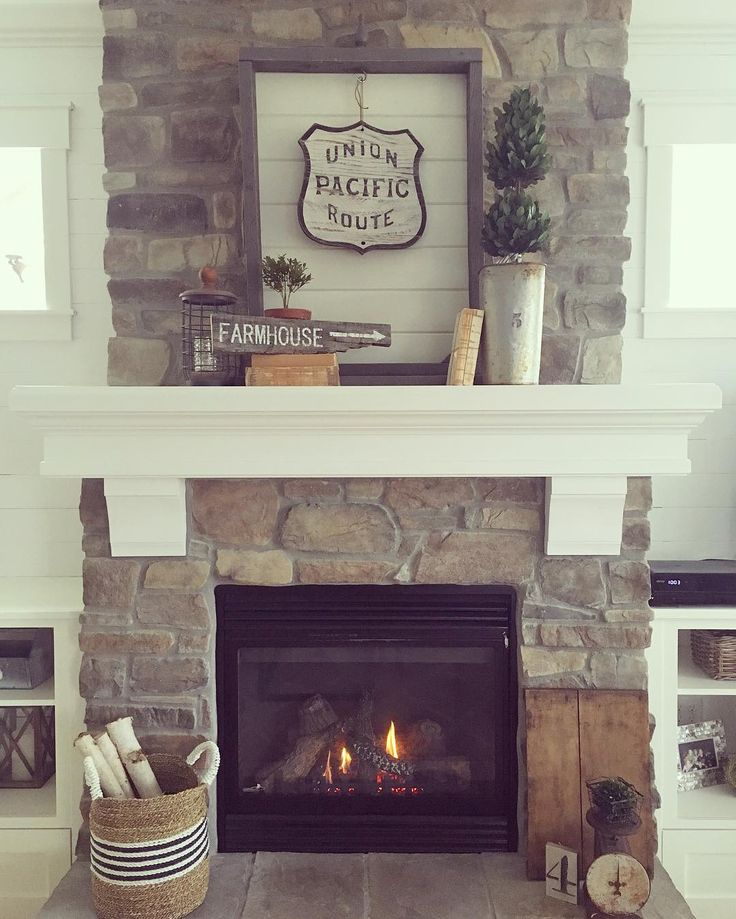 Our All Time Favorite Rustic Spaces: 1000+ Ideas About Farmhouse Fireplace On Pinterest
