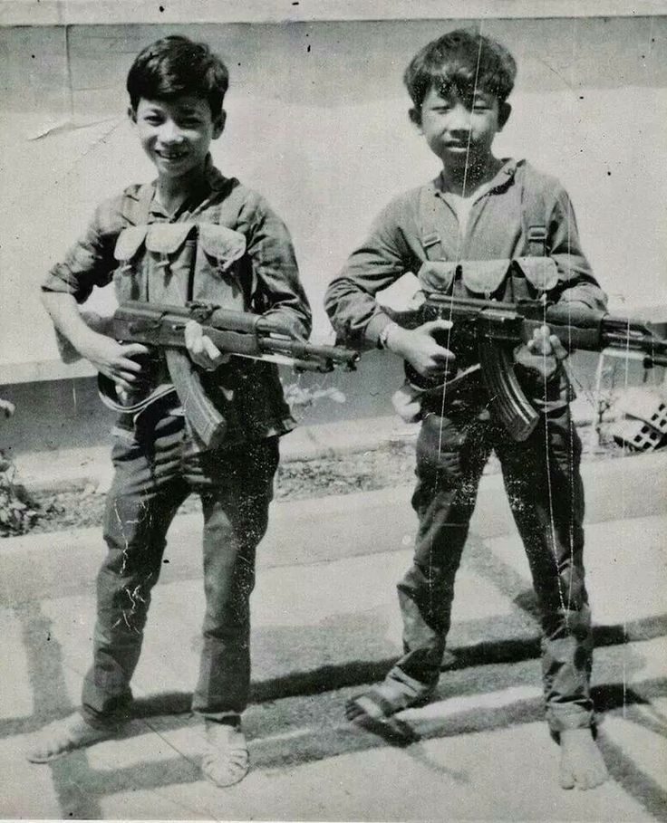 Vietnam...the little ones would kill you too... WHY ?... They were fighting for THEIR land.. not meddling in  anothers..