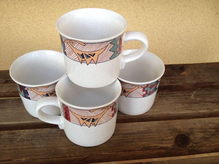 A personal favorite from my Etsy shop https://www.etsy.com/listing/227383422/vintage-mikasa-deer-run-southwestern-mug
