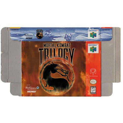 Mortal Kombat Trilogy N64 - Empty N64 Box