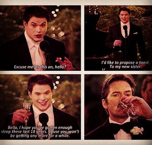 Gotta love Emmett Cullen