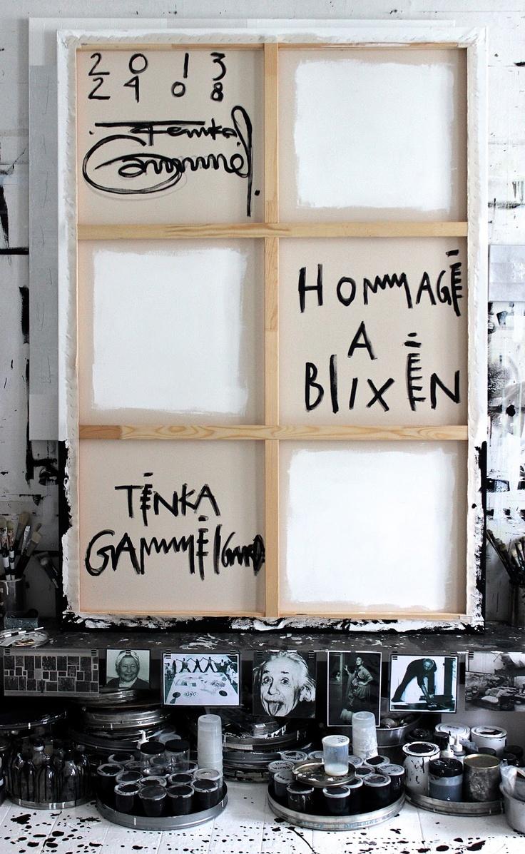 Open Studio - Tenka Gammelgaard