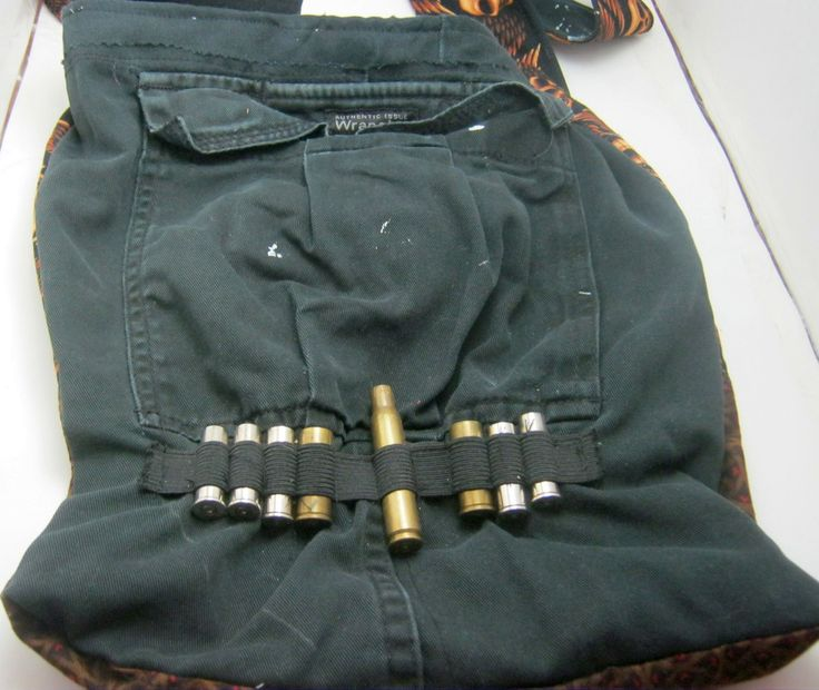 Recycled Cargo Pants Steampunk Diesel Punk Skull Bag by ErikasChiquis on Etsy http://www.skullclothing.net