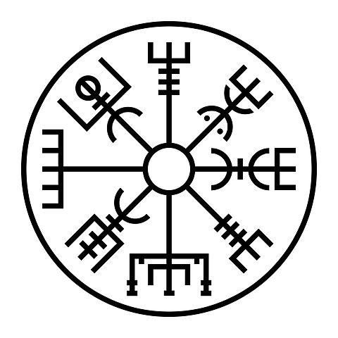 Viking Tattoos Historical or Not?Popular Viking tattoos include the compass tattoo, called the Vegvisir. This symbol is not from the Viking Age, however; it dates to the 17th century, from an Icelandic book on magic