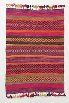 Huari Rug | Anthropologie - for @Sue Weiland Society
