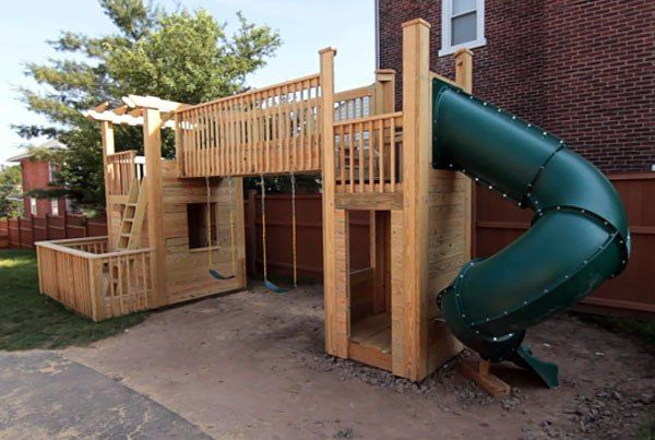 You'll be the talk of the neighborhood if you build this awesome playset