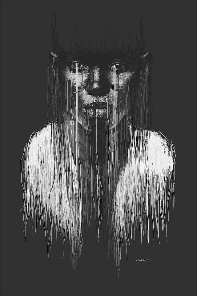 Drip-effect Paintings by Marcello Castellani   iGNANT.de