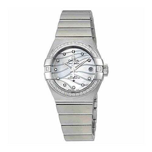 Omega Constellation Co-Axial Motherof Pearl Dial Ladies Watch 123.15.27.20.55.00...