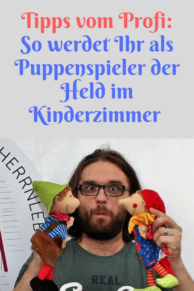 """Wie Kasperlspielen am besten geht - das verrät uns heute auf dem Blog ein echter Puppenspieler: Florian Herrnleben und der Kasper von sigikid sind zu Gast bei """"Mama und die Matschhose""""."""
