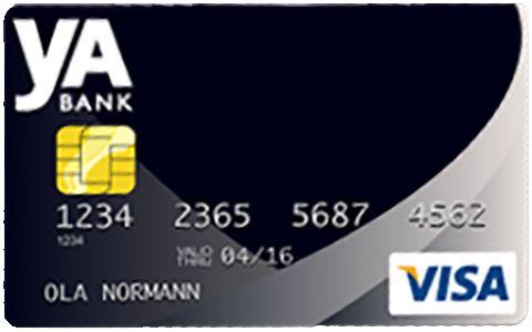 yA Bank kreditkort