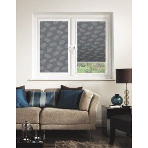 Autumn Leaf ASC Graphite Perfect Fit Pleated Blind