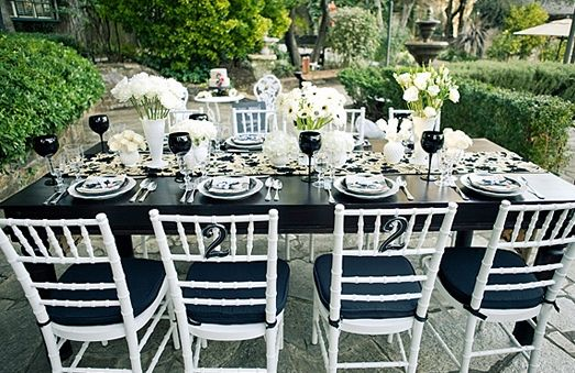 black wedding table decorations black and white vintage wedding theme tables black and 1892