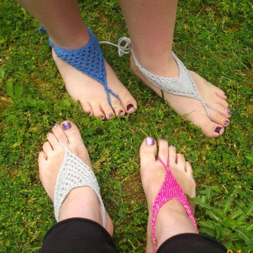 Barefoot Sandals for Women two styles in a PDF by PurplePup