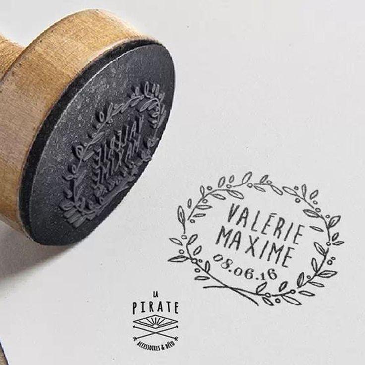 Idée DIY: un tampon personnalisé - Pinterest: 10 DIY pour un mariage petit budget