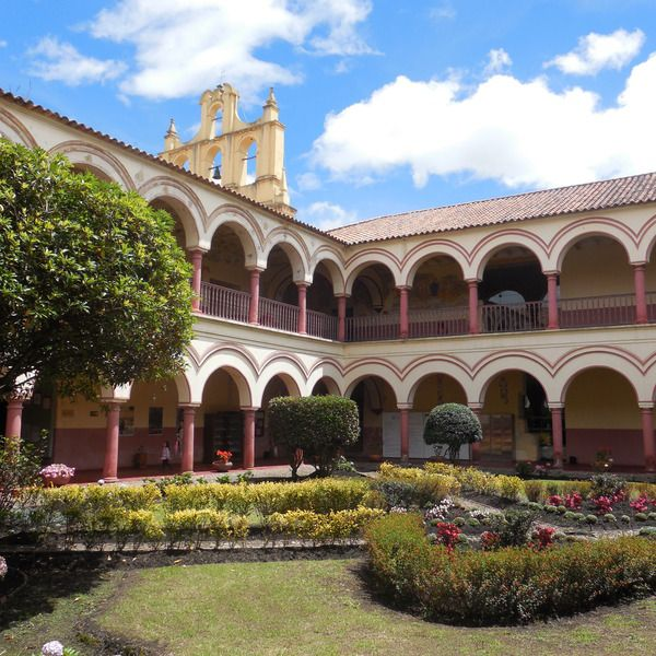 San Agustin Cloister, Tunja, Boyaca, Colombia