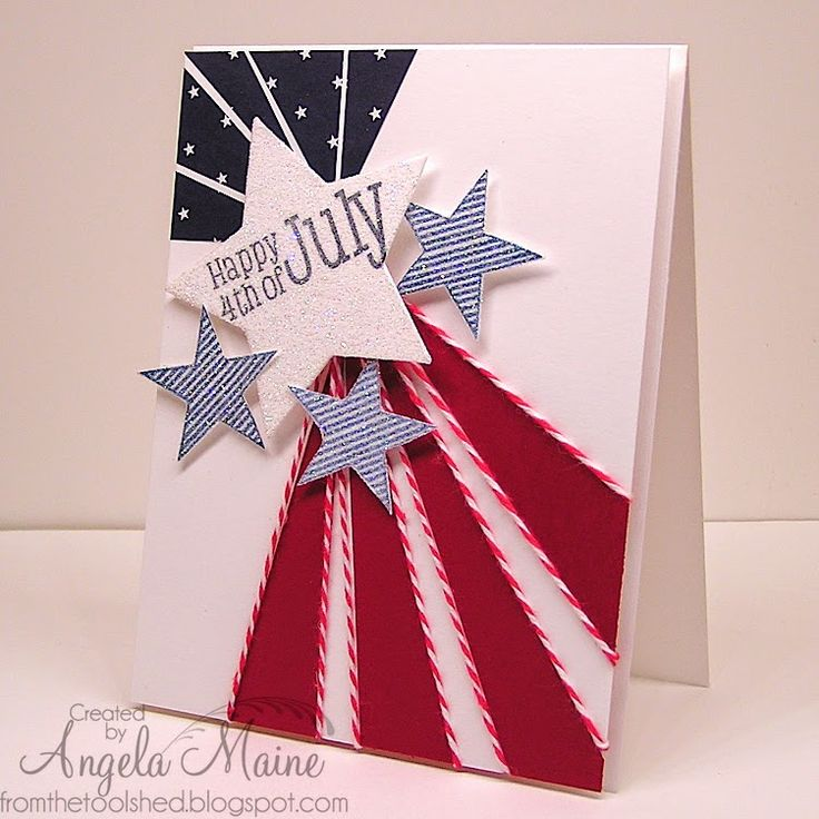 Would make a good 4th of July birthday card