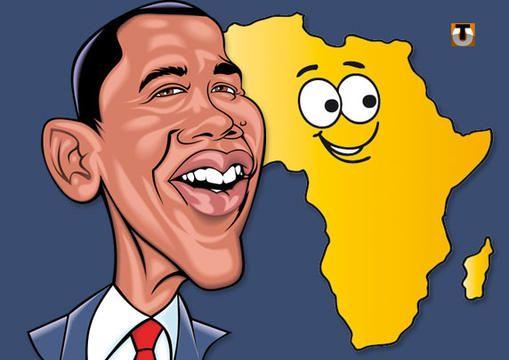 Barack Obama en Afrique (French article).