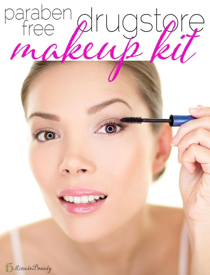 Paraben Free Drugstore Makeup Kit: Yes, It Is Possible!