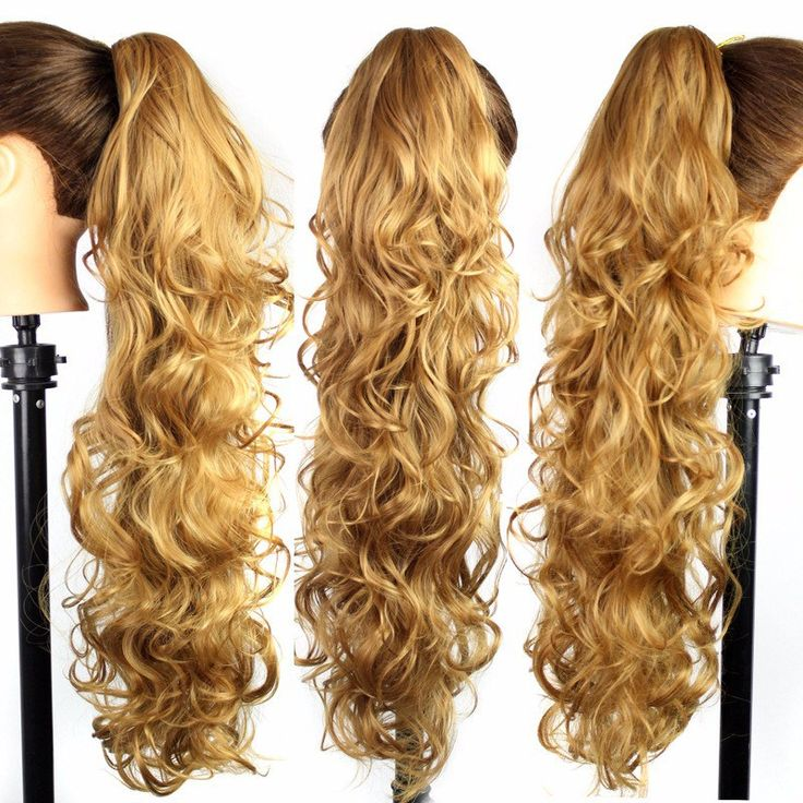 Claw Clip Ponytail Hair Extensions 22 Claw Clip Ponytail Hairpieces Braid Beautiful Girl Synthetic Hair Ponytail Clip On Hair