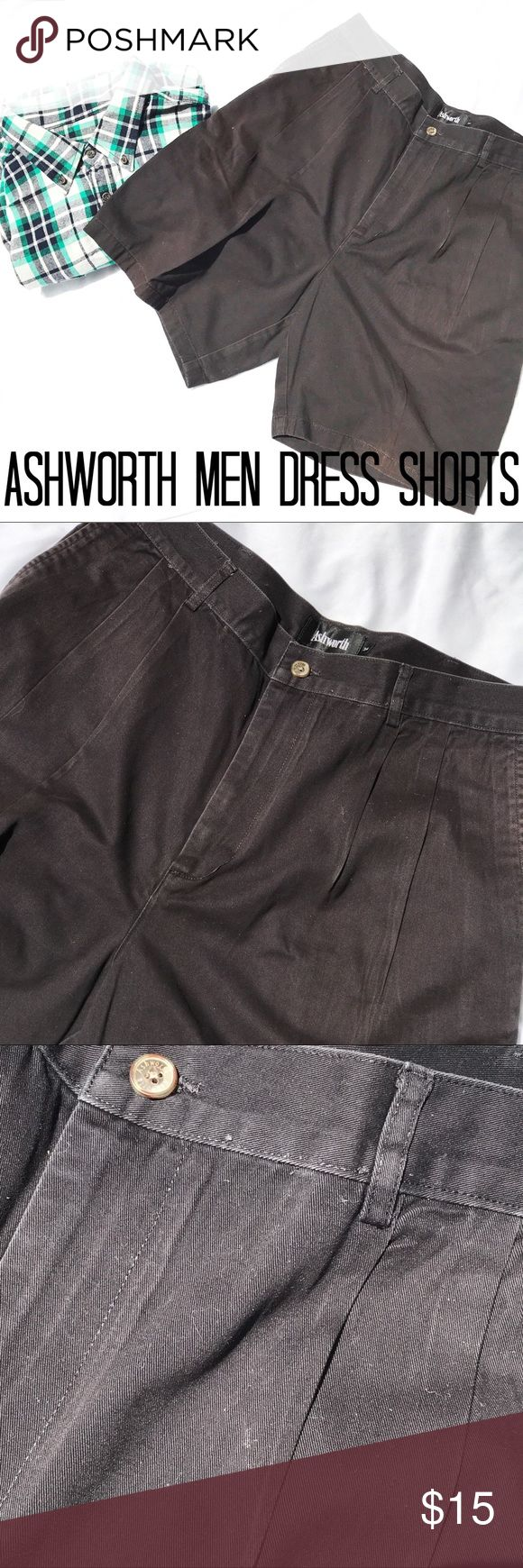 Ashworth Men Dress Shorts The pictures don't do it justice these shorts still have a dark wash and they look nice, condition is good Ashworth Shorts