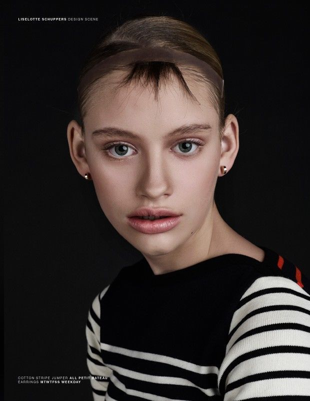 futuristic hair editorials shape