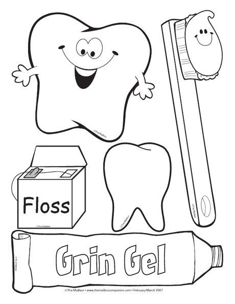 Dental Assisting Coloring Book Coloring Pages