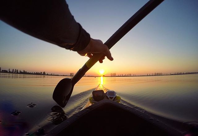 My view ☀️ #ravenna #kayak #gopro #roadtorio
