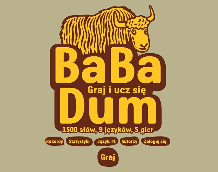 do nauki czytania; wśród kilku wersji językowych jest też polska