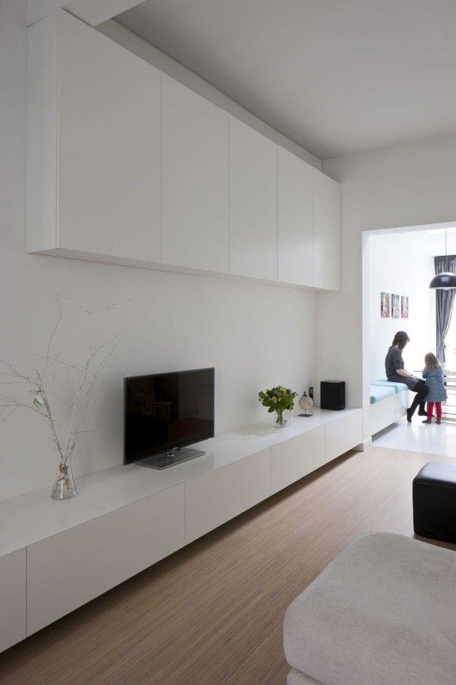 94 best tv kast images on pinterest architects for Ikea meuble mural besta