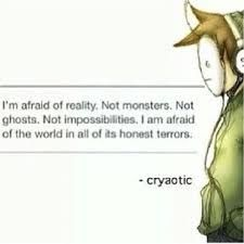 Cryaotic quote.
