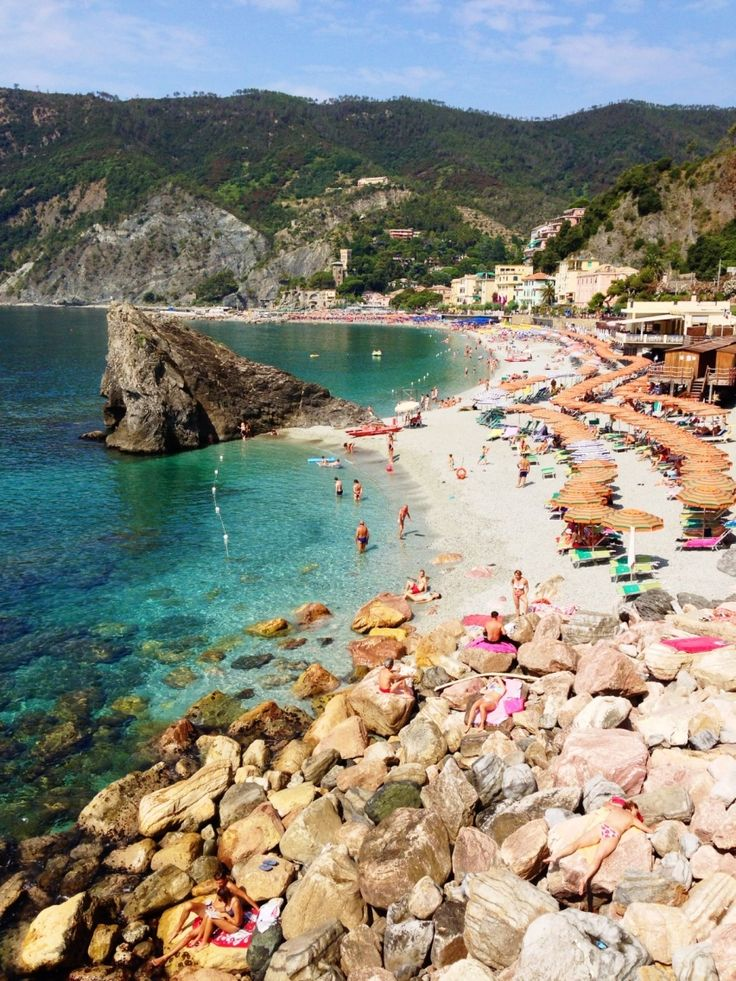 Monterosso Al Mare, Cinque Terre, Italy #travel