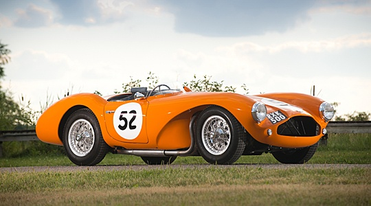 RM Auctions sells 1955 Aston Martin DB3S for $3.35m