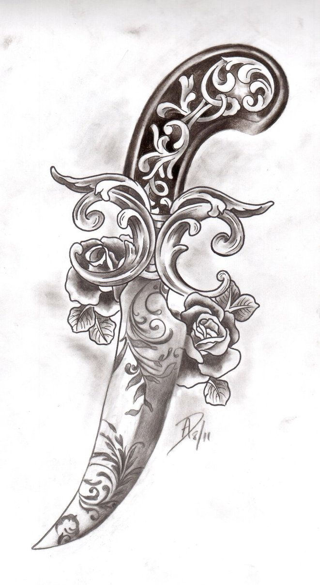 Victorian Dagger by ladygreytattoo on deviantART