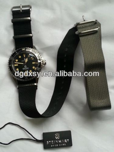 Steinhart Ocean Vintage Military Divers Watch plus Maratec Nato & Zulu Straps