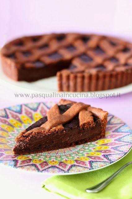 La crostata al cioccolato di Ernst Knam