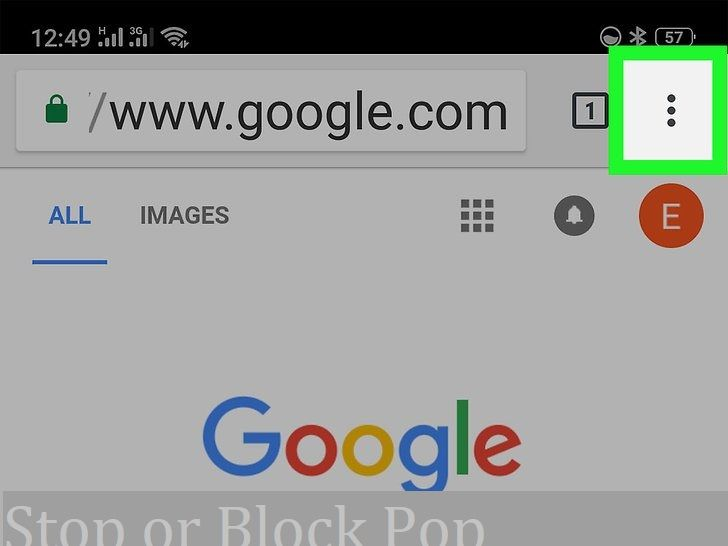 How To Enable Or Disable Pop Ups In Chrome Browser Stop Pop Ups Pop Pop Up