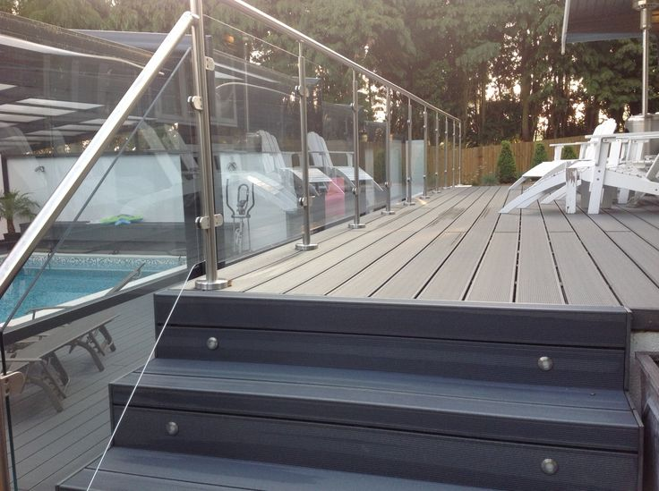 Professional Glass Balustrade, SHS Products, Swimming Pool