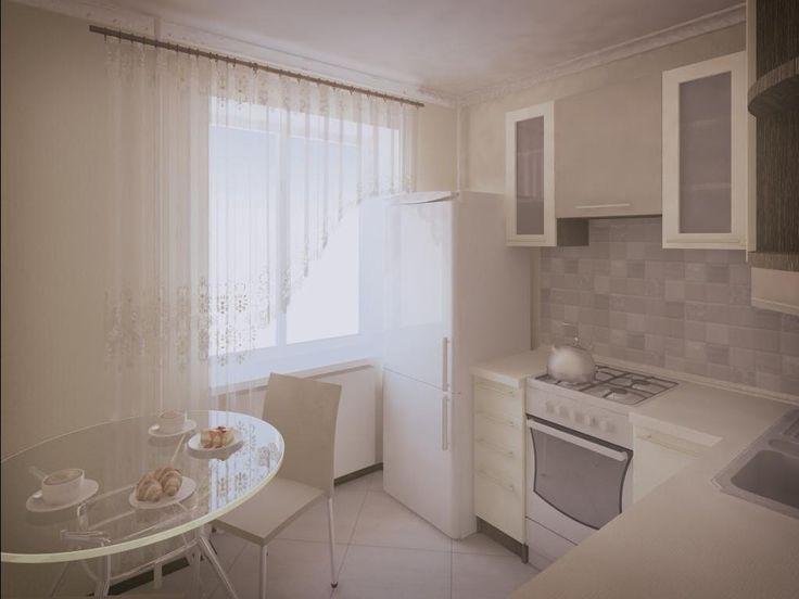 Выбираем занавески на кухню с балконной дверью: 22 фото идеи
