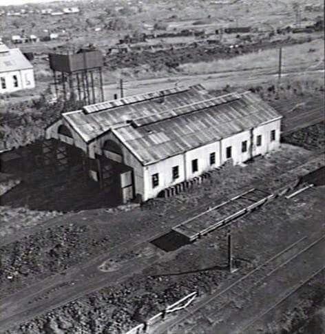 DARWIN RAILWAY YARDS.1946