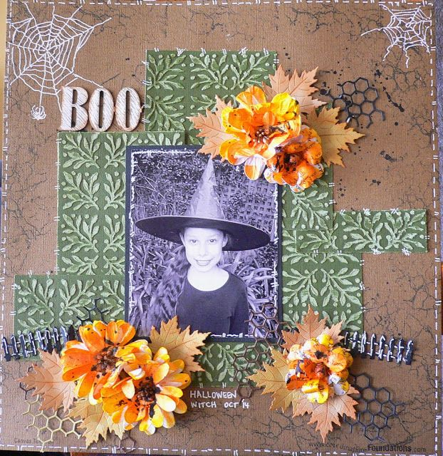 Couture Creations: Halloween Witch by Adriana Bolzon