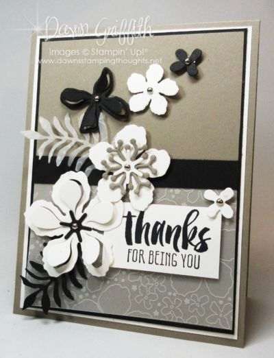 Thanks for being YOU! | Stampin'Up! | Bloglovin'