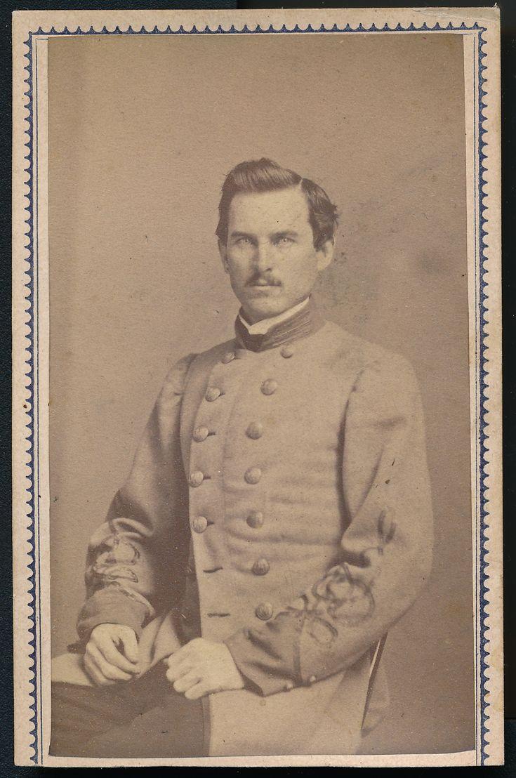 Albumen carte de visite of Captain Isaiah George