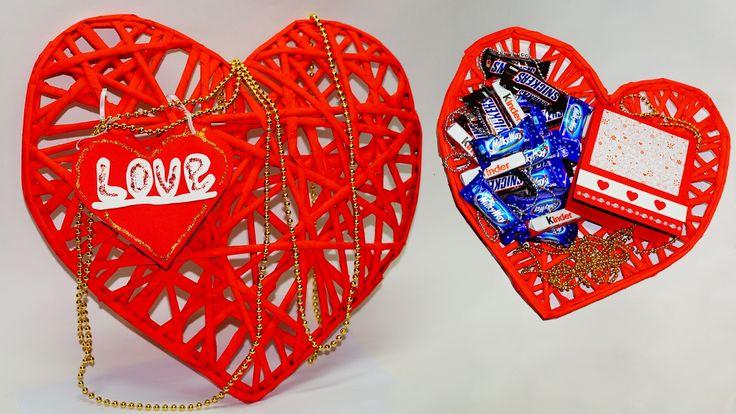 ПОДЕЛКИ ГИГАНТСКОЕ СЕРДЦЕ. Идеи для дня Святого Валентина. Газета Craft ...