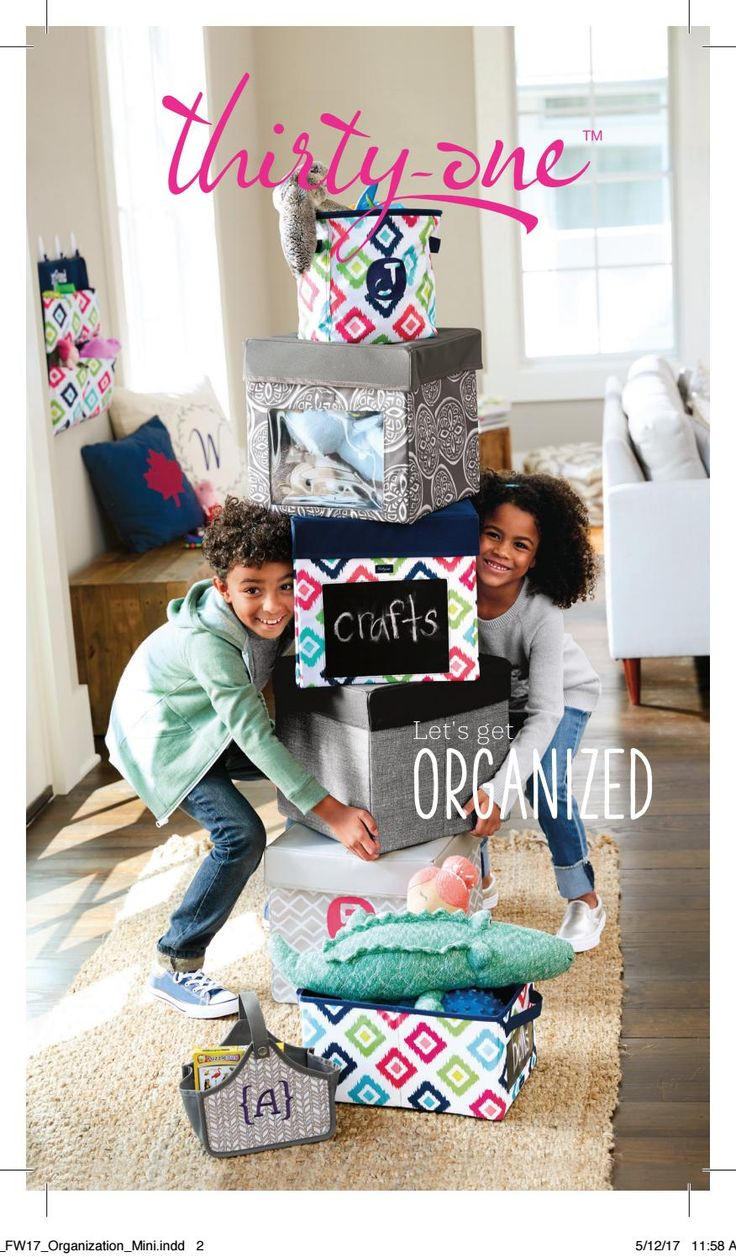 Thirty-One Fall 2017 Organization Mini Catalog, Thirty-One, Thirty One, www.mythirtyone.com/Bisconti, www.facebook.com/groups/VIP31Bisconti