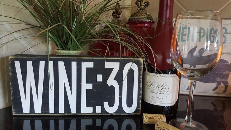 WINE:30 - hand painted, distressed home decor, wall art, painted wood sign, rustic wall decor, wine sign, beer sign, wine thirty by SassyBlocks on Etsy https://www.etsy.com/listing/474340957/wine30-hand-painted-distressed-home