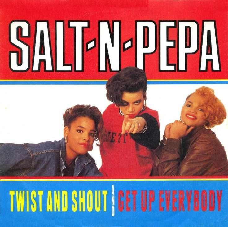 "Salt-N-Pepa is an American hip hop trio from Queens, New York.[1][2] The group, consisting of Cheryl James (""Salt""), Sandra Denton (""Pepa"") and originally Latoya Hanson, who was replaced by Deidra Roper (""DJ Spinderella""), was formed in 1985 and was one of the first all-female rap groups.[3][4] Through their career, Salt-N-Pepa have won five awards: Grammy Award for Best Rap Performance by a Duo or Group (1995), MTV Video Music Award for Best Electronic Dance Music Video (1994), MTV Video…"