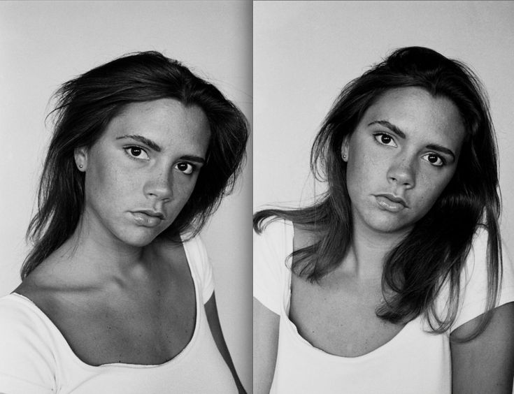 Photoshoot From 1992. Before she was Posh, and before she was Beckham.