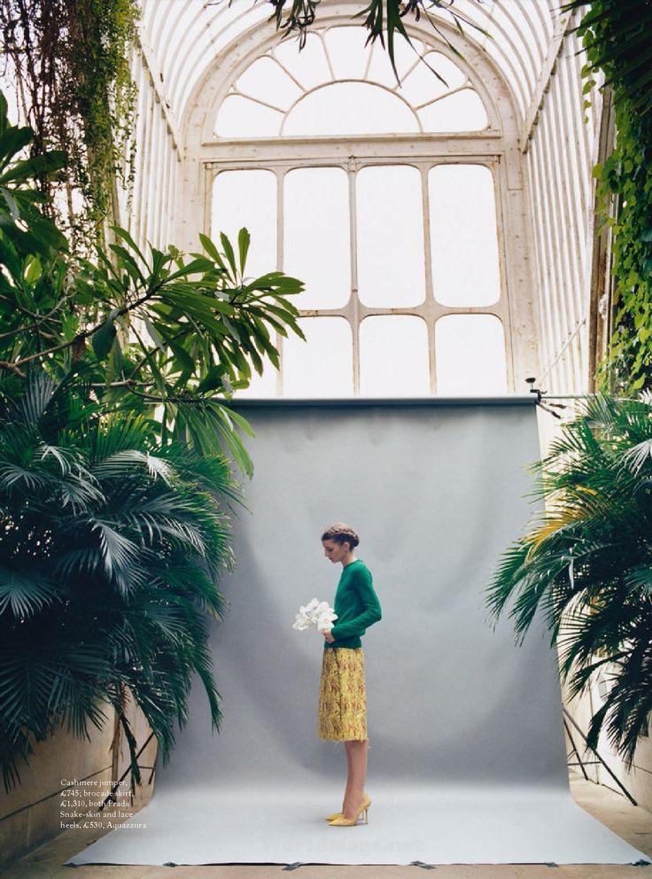 UK Harper's Bazaar May 2015 Photographer: Koto Bolofo