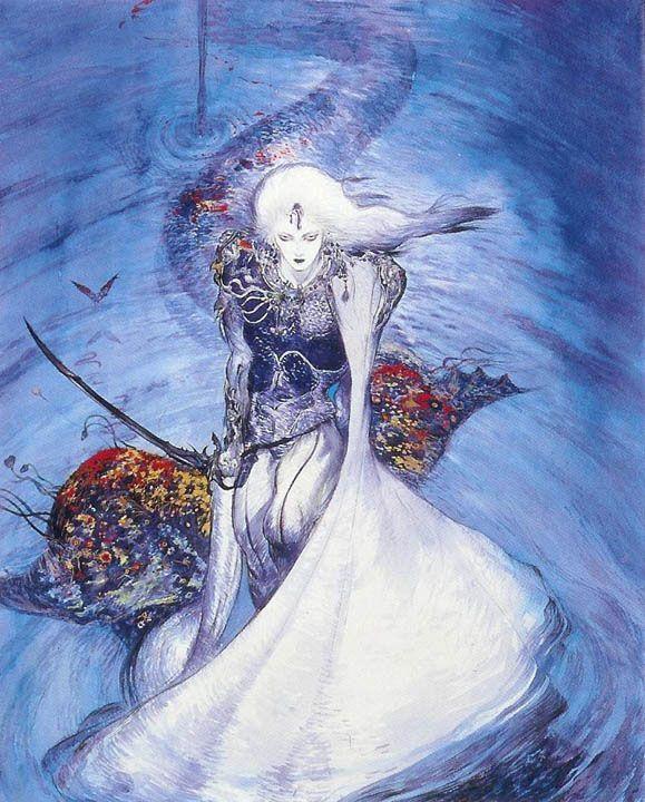 Icon Aloft Albino Warrior: Yoshitaka Amano