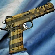 Stars and Stripes, Pistol, patriotic, guns, weapons, self defense, protection, 2nd amendment, America, firearms, munitions #guns #weapons